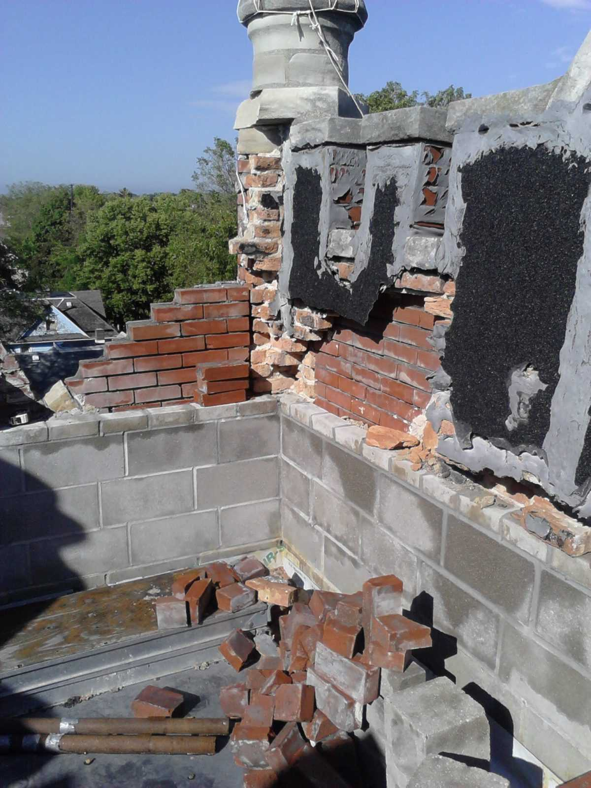 Brick and masonry repair